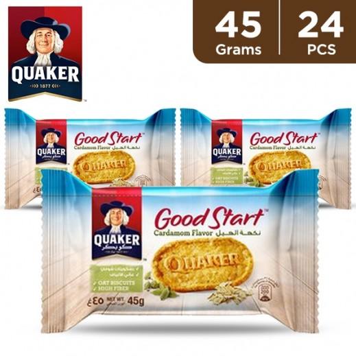 Quaker Good Start Cardamom Biscuit 24 x 45 g