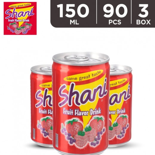 Wholesale - Shani Fruit Drink Can 150 ml (3x30 pieces)