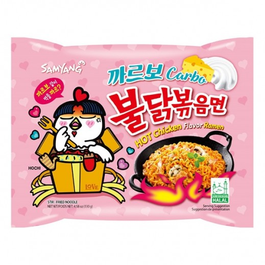 Samyang Hot Chicken Carbo Ramen Stir Fried Noodle 130 g
