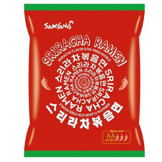 Samyang Sriracha Ramen Flavor Stir-Fired 135 g