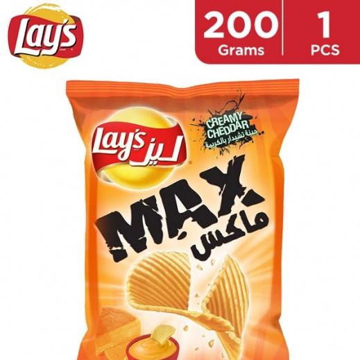 Lays Max Creamy Cheddar 200 g