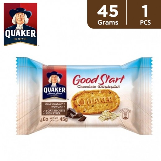 Quaker Good Start Chocolate Biscuit 45 g