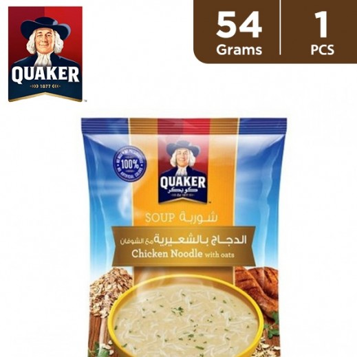 Quaker Chicken Noodle Soup with Oats 54 g