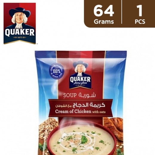 Quaker Cream of Chicken Soup with Oats 64 g