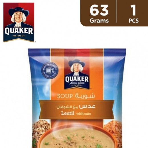 Quaker Lentil Soup with Oats 63 g
