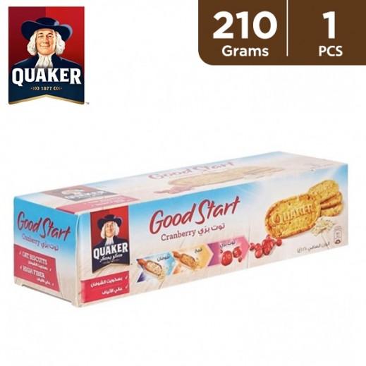 Quaker Good Start Cranberry Biscuit 210 g