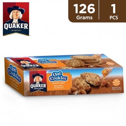 Quaker Honey & Nuts Oat Cookies 126 g