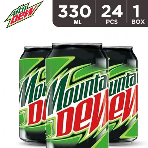 Mountain Dew Can 24 x 330 ml