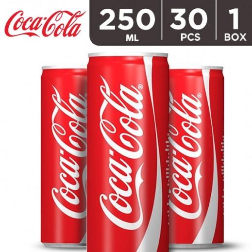 Coca Cola Can Carton 30 x 250 ml