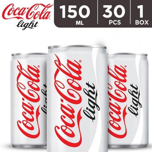 Coca Cola Light Can Carton 30 x 150 ml