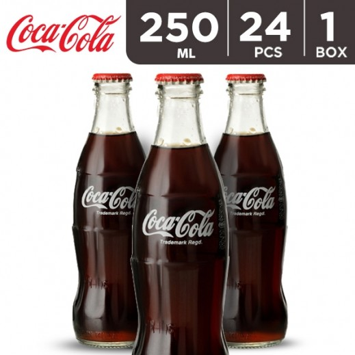 Coca Cola Bottle Carton 24 x 250 ml