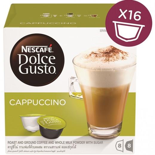 Nescafe Dolce Gusto Cappuccino 186.4 g (16 capsules)