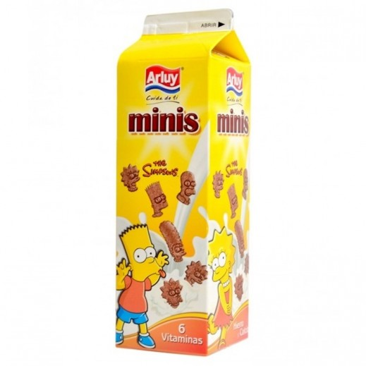 Arluy Minis Simpson Chocolate Biscuits 275 g