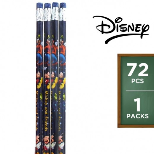 Mickey Mouse Pencil Set 72 Pieces