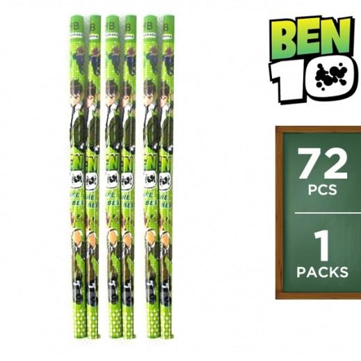 Ben10 Pencil Set 72 Pieces