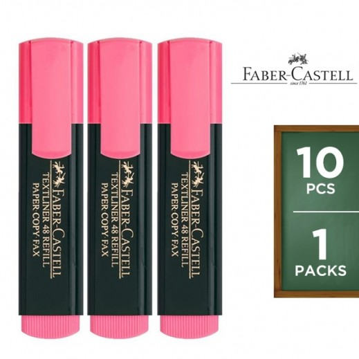 Faber Castell Grip Textliner Pink 10 pieces