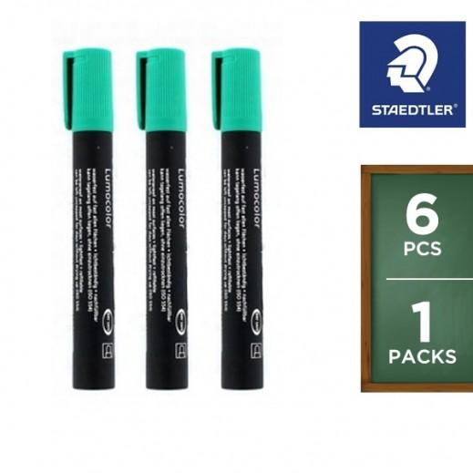 Value Pack - Staedtler Permanent Marker Green 352-5 (6 pieces)