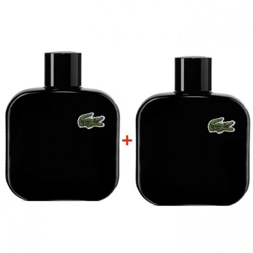 Lacoste Noir L.12.12 For Him EDT 100 ml (1 + 1 Free)