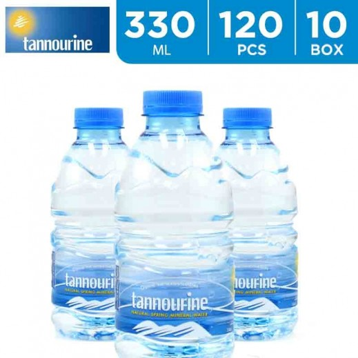 Wholesale - Tannourine Drinking Water 330 ml (10  x 12 Pieces) - delivered by Taw9eel Wholesale Within 6 hours