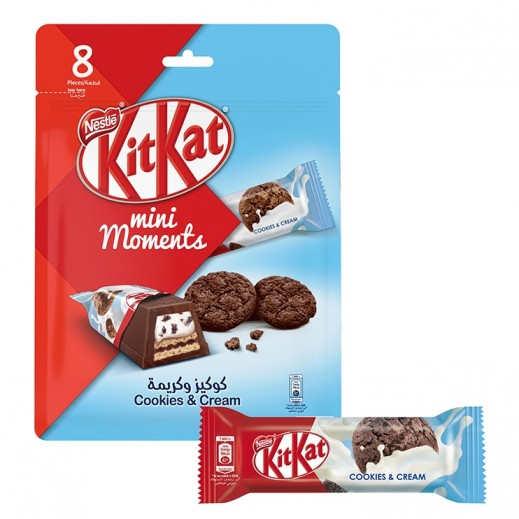 KitKat Mini Moments Cookies & Cream 140 g