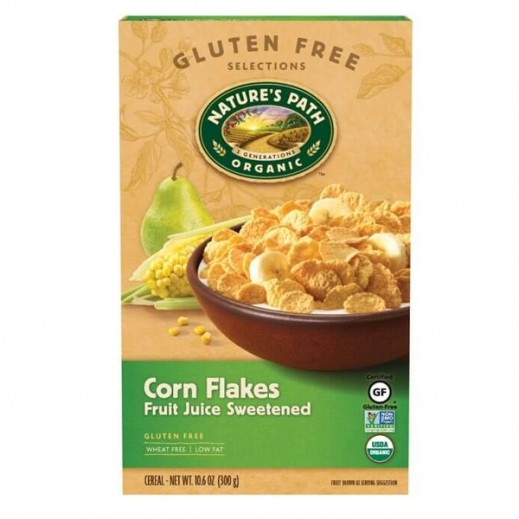 Nature's Path Fruit Juice Sweetened Corn Flakes 300 g