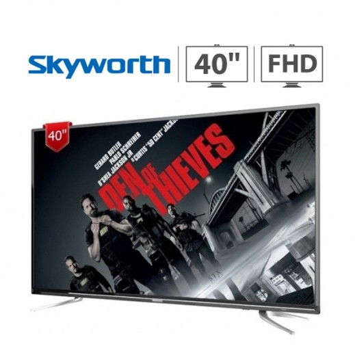 """Skyworth 40"""" Full HD TV – Black - delivered by EASA HUSSAIN AL YOUSIFI & SONS COMPANY"""