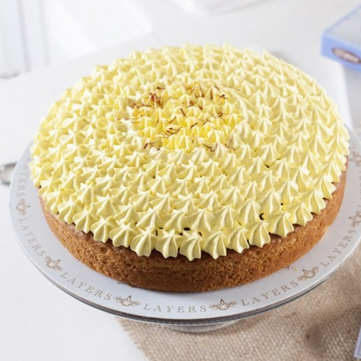 Zaafran Cake - 1 Day Pre-order - delivered by Layers Cake Boutique