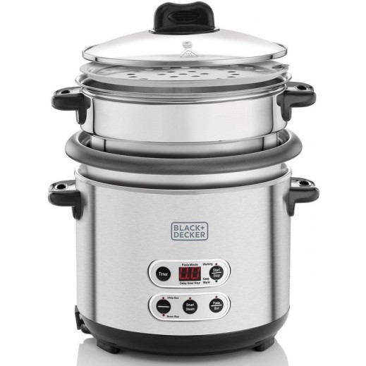 Black & Decker Rice and Pasta Cooker 1.8 L