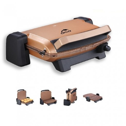 Orca Compact Grill 1,800 W - Gold