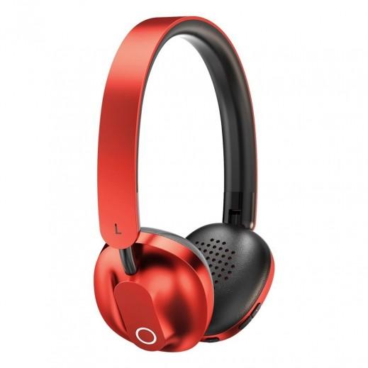 Baseus Encok Wireless Headphone – Red