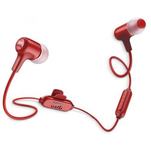JBL In-Ear Wireless Earphones - Red