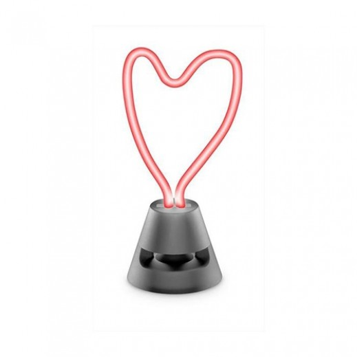 Cellularline Neon Heat Bluetooth LED Speaker - Red