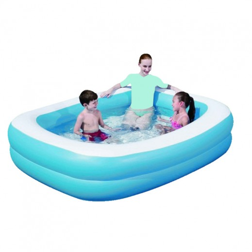 Blue Rectangular Family Pool (269 x 175 x 51cm)