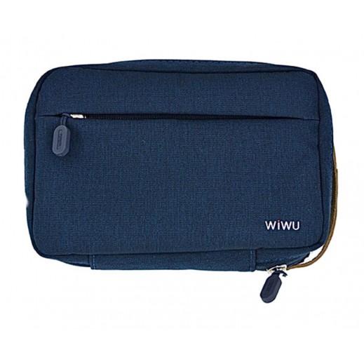 WIWU Portable Cozy Storage Bag 8.2 Inch – Blue