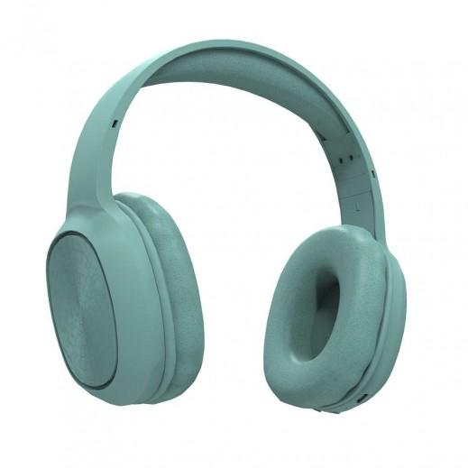 Porodo Pure Bass FM Wireless Headphone – Green