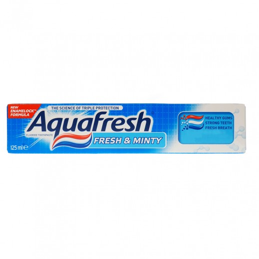 Aquafresh Toothpaste Fresh Mint 125 ml