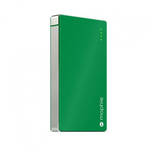 Mophie Quick Charge External Battery For Iphone, Ipod & Ipad 4,000Mah Green