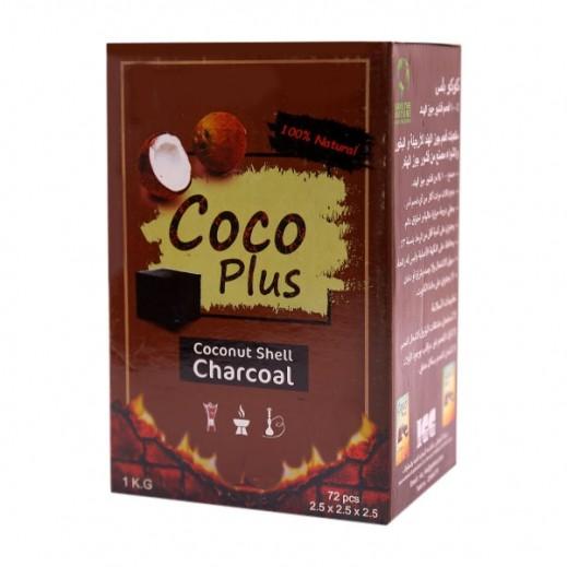 Coco Plus Coconut Charcoal 1 kg (72 Pieces)