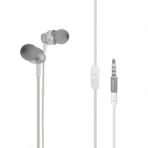 Parmp Inner Set Earphone Aluminum Series White