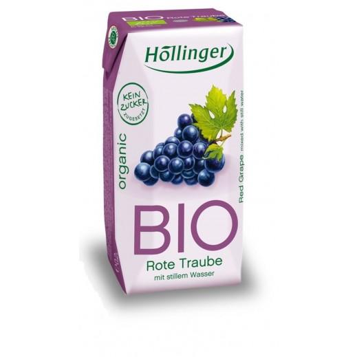 Hollinger Organic Red Grape Cloudy Juice 200 ml