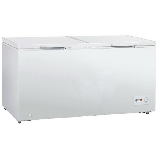 Midea Chest Freezer Double Door 515L/18Cft -White - delivered by  AL-YOUSIFI Within 3 days