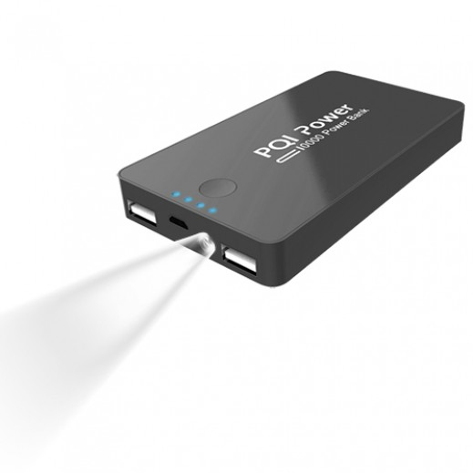 PQI Power Bank 10,000mAh Black