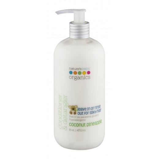 Nature's Baby Organics Coconut Pineapple Conditioner & Detangler 473.2 ml