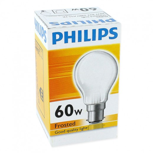 Philips Classictone 60 W B22 Frosted
