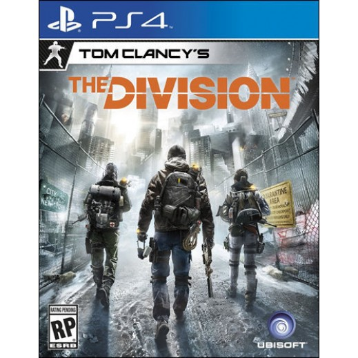 Tom Clancys The Division for PS4 - NTSC