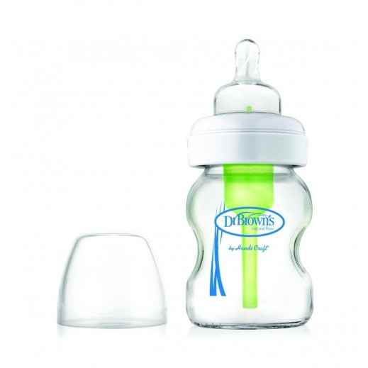 Dr. Brown's Options Glass Wide Neck Bottle 150 ml