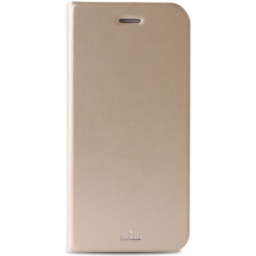 Puro Eco Leather Case For Iphone 6 Gold IPC647BOOKCCRYGOLD