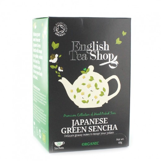 English Tea Shop - Japanese Green Sencha 20 Sachets (40 g)