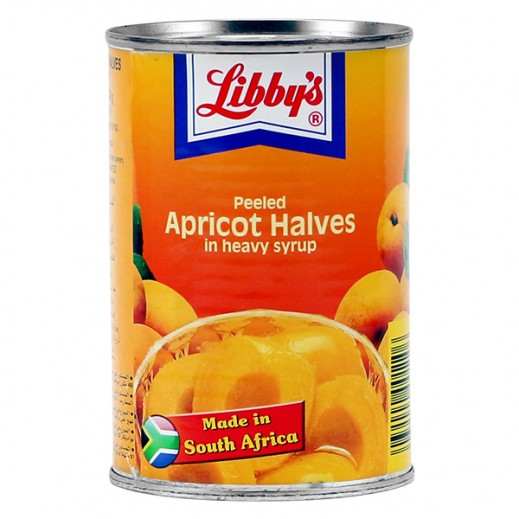 Libbys Peeled Apricot Halves (in syrup) 420 g
