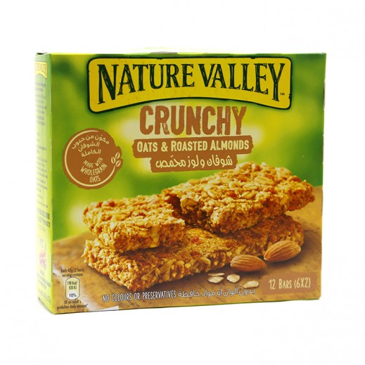 Nature Valley Crunchy Oats & Roasted Almonds Granola Bars 252 g